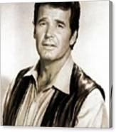 James Garner By Mb Canvas Print