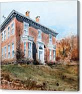 James Mcleaster House Canvas Print