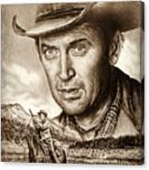 James Stewart The Far Country Canvas Print