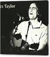 James Taylor Poster Canvas Print