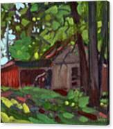 James's Barn Canvas Print