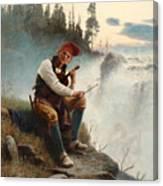 Jamtlands Sagen Canvas Print