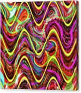 Janca Abstract Wave Panel #5at Canvas Print