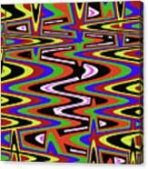 Jancart Drawing Abstract #8455ws Canvas Print