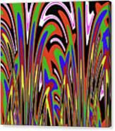 Jancart Drawing Abstract #8455wspc Canvas Print