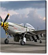 Janie P-51 Canvas Print