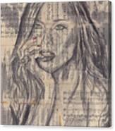 Janine Canvas Print