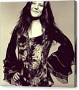 Janis Joplin, Music Legend Canvas Print
