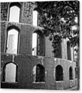 Jantar Mantar - Monochrome Canvas Print