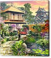 Japan Garden Variant 2 Canvas Print