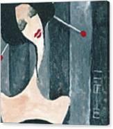 Japanese Beauty Canvas Print