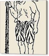 Japanese Folklore: Oni Canvas Print