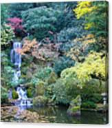 Zen Japanese Garden Canvas Print