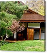 Japanese House Canvas Print