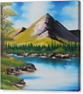 Japanese Landscape Canvas Print