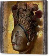 Japanese Puppet Head Single Canvas Print