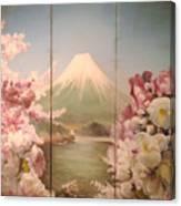 Japanese Spring Canvas Print
