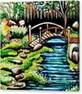 Japanese Tea Gardens Canvas Print
