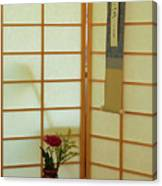 Japanese Tea House Canvas Print