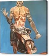 Japanese Templeguard Canvas Print