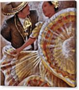 Jarabe Tapatio Dance Canvas Print