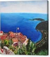 Jardin Exotique, Eze, France Canvas Print