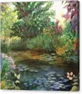 Jardin Giverny Canvas Print