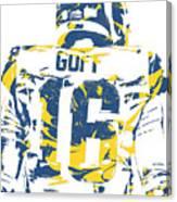Jared Goff Los Angeles Rams Pixel Art 2 Canvas Print