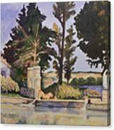 Jas_de_bouffan_after_cezanne Canvas Print