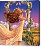 Jasmine - Sensual Pleasure Canvas Print