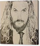 Jason Mamoa Canvas Print