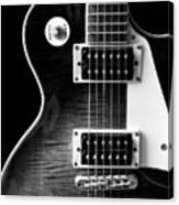 Jay Turser Guitar Bw 4 Canvas Print