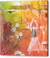 Jayzen - The Little Gypsy Dancer Canvas Print