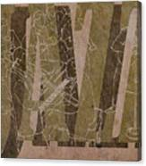 Jazz 34 Duke Ellington - Brown Canvas Print