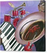 Jazz At Sunset Canvas Print