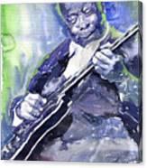 Jazz B B King 02 Canvas Print