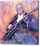 Jazz B.b. King 03 Canvas Print