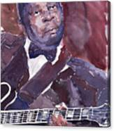 Jazz B B King Canvas Print