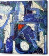Jazz Bar Canvas Print