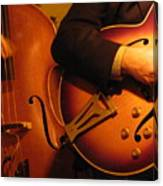 Jazz Bass And Guitar Canvas Print