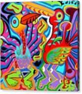 Jazz Birds Canvas Print