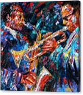 Jazz Brothers Canvas Print
