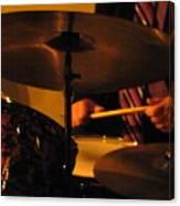 Jazz Drums Canvas Print