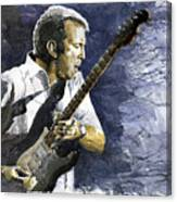 Jazz Eric Clapton 1 Canvas Print
