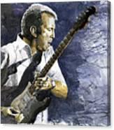 Jazz Eric Clapton 1 Canvas Print