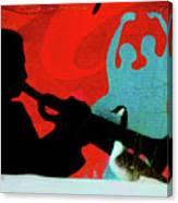 Jazz Goose Canvas Print