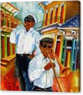 Jazz In The Treme Canvas Print