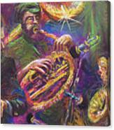 Jazz Jazzband Trio Canvas Print