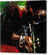 Jazz Miles Davis 1 Canvas Print