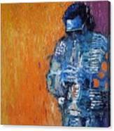 Jazz Miles Davis 2 Canvas Print